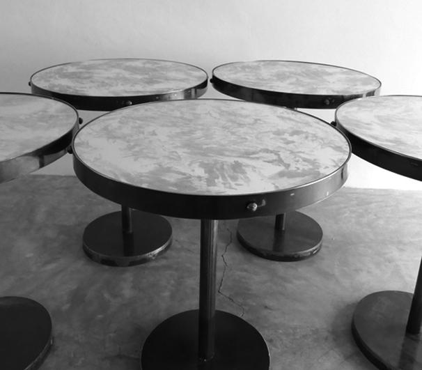 Bistro + Cafe Tables