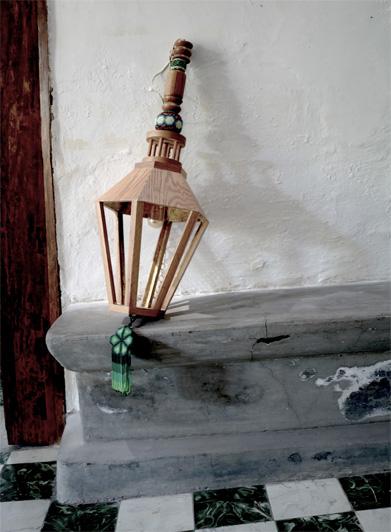 Huichol Wood Pendant