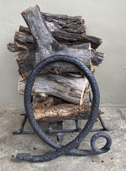 Serpentine Firewood Holder