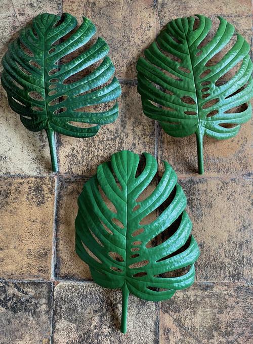 Tropical Leaf Fixture Green